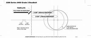 magnificent schlage lock templates gallery example With kwikset deadbolt template