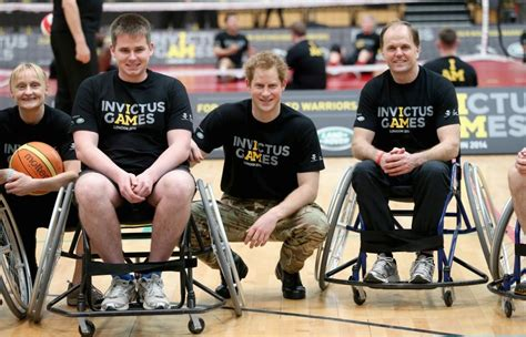 Prince Harrybacked Invictus Games For Injured Service Personnel Launched In London's Olympic Park