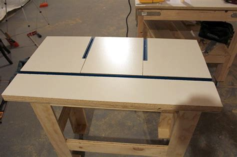 build  router table  project closer