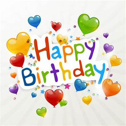 Heart Birthday Happy Balloons Compleanno Zezete2 Anniversaire