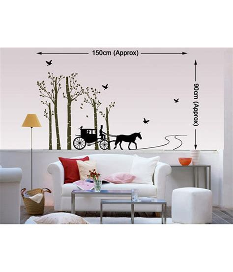 Decals Arts Printed Pvc Vinyl Multicolour Wall Stickers