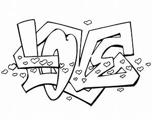 """I Love You "" Coloring Pages"