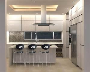 Cocina, Residencial, Cocinas, Minimalistas, De, Ght