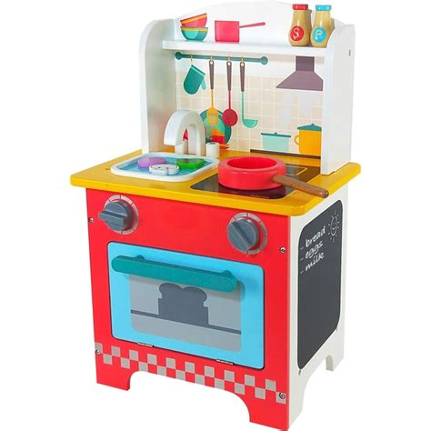 Wooden Tabletop Kitchen by Squirrel Play Wooden Tabletop Kitchen Squirrel Play Toys Uk
