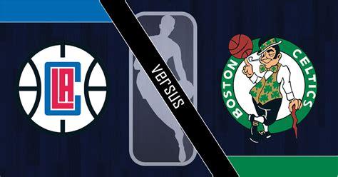 Celtics Vs. Clippers Logos