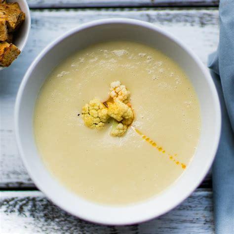 cuisine chou fleur recette soupe chou fleur et pomme au cumin cuisine