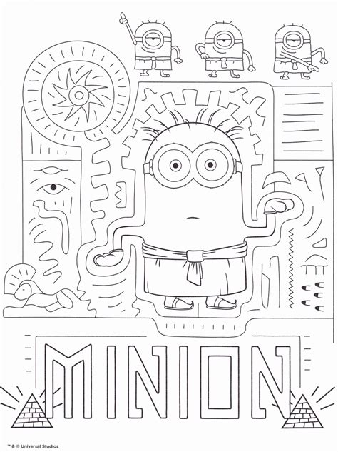 HD wallpapers coloriage imprimer minions