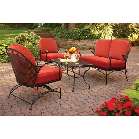 mainstays ragan meadow ii 7 piece outdoor sectional sofa sandhill 7 piece outdoor sofa sectional set replacement