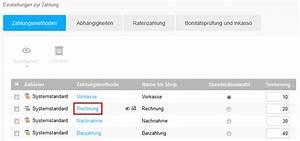Zahlungsmethode Rechnung : zahlungsmethoden im 1 1 e shop bearbeiten 1 1 hilfe center ~ Themetempest.com Abrechnung