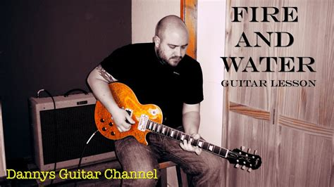 Here is a guitar lesson taking a look at paul kossoff's rhythm guitar part for the song fire and w. Fire and Water - Free - Paul Kossoff - Blues Rock Guitar ...