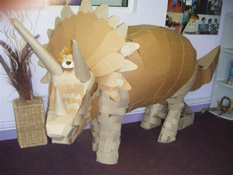 dinosaur party huge cardboard dino prop   fun