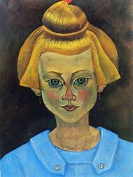 Joan Miro Portrait of a Young Girl