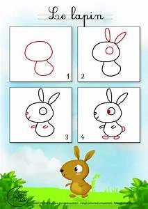 Lapin Facile A Dessiner : tuto dessin lapin ~ Carolinahurricanesstore.com Idées de Décoration