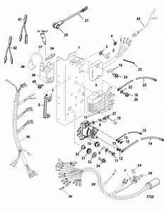 Mercury Marine 60 Hp  3 Cylinder  Electrical Components Parts
