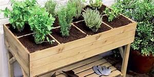 Comment Remplir Une Grande Jardinière : comment cultiver un petit potager sur son balcon ~ Melissatoandfro.com Idées de Décoration