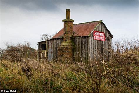 Disused Railway Linesman's Hut In Scotland Goes On The