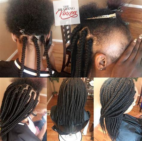 medium box braids ideas  pinterest medium