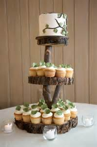 60th anniversary plate stand up and make a statement with rustic wedding cake