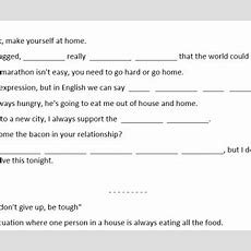 Busyteacher Free Printable Worksheets For Busy English