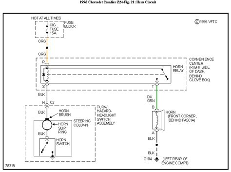 Need The Wiring Diagram Horn Chevy