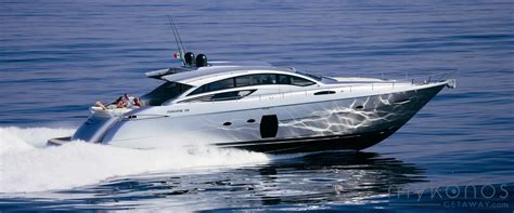 Speed Boat Length by Mykonos Charter A Luxury Speed Boat Cruise