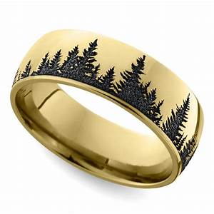 nature inspired men39s rings With nature wedding rings
