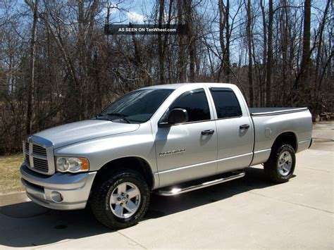 2003 Dodge Ram 1500 Slt Crew Cab Pickup 4   Door 4. 7l