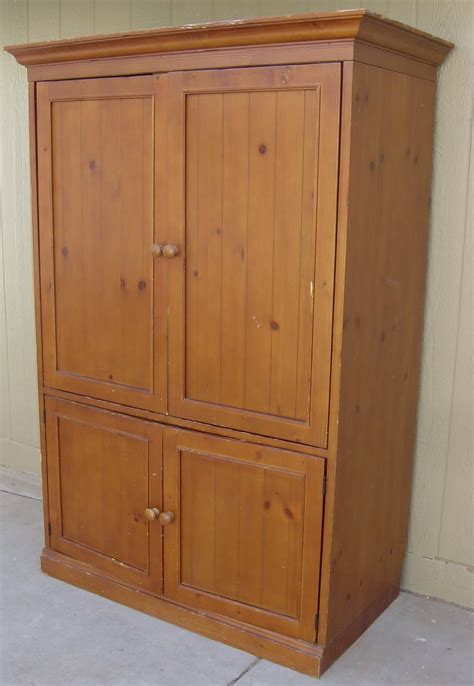 Knotty Pine Armoire The Backyard Boutique By Five To Nine Furnishings Knotty