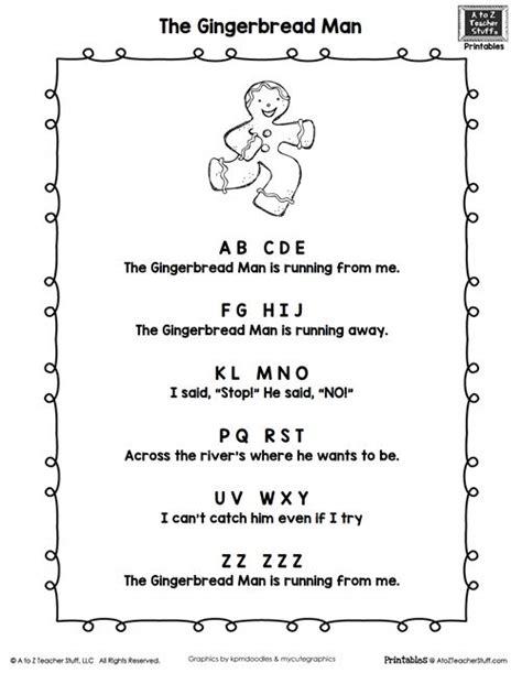 ideas  gingerbread man song  pinterest
