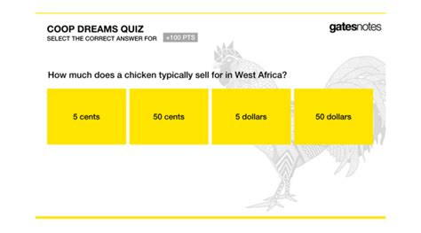 Coop Dreams Is Bill Gates's Gamified Plan To Give Chickens ...
