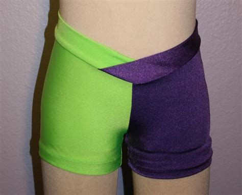 Items Similar To Lime Green And Purple Sports Shorts On Etsy