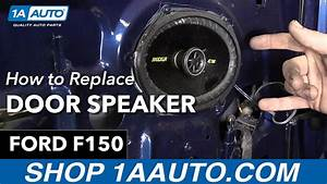 How To Replace Door Speaker 97-04 Ford F150