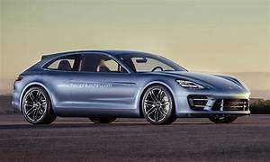 Porsche Panamera Break : panamera sport brake coupe rendered autoevolution ~ Gottalentnigeria.com Avis de Voitures
