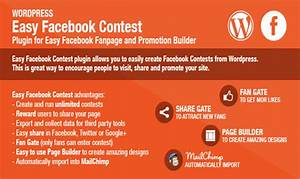Best 10 wordpress page builder plugins wp template for Facebook photo contest rules template