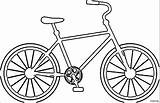 Bicycle Coloring Pages Bike Printable Sheet Colouring Cycling Duck Bicycles Template Colorings Getdrawings Getcolorings Popular Templates Unique sketch template