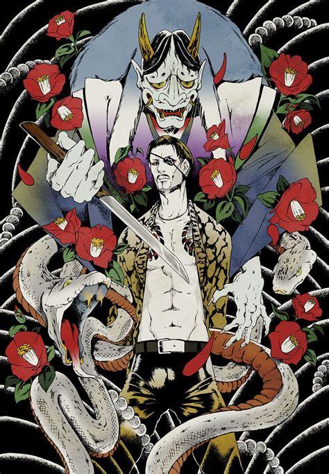 pin  ironscotch  yakuza yakuza anime video game art