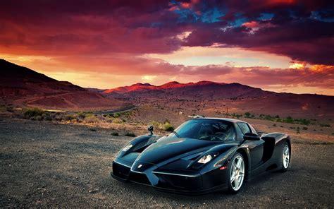 Ferrari Enzo Black Wallpaper