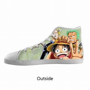 Fashion Animation Shoes Custom Pouplar Anime One Piece ...