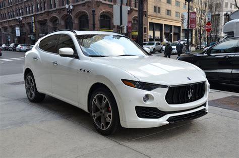 Used Maserati Chicago by 2017 Maserati Levante Stock L216aba For Sale Near