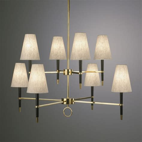 ventana two tier chandelier modern lighting jonathan adler