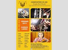 Cursos de Música Verano 2013 Serperuanocom
