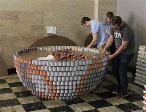 msa cuisine 39 canstruction 39 builds from food wvxu