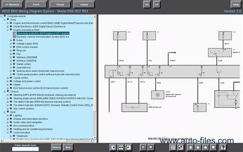 Bmw Mini Wds Wiring Diagram System Ver Repair