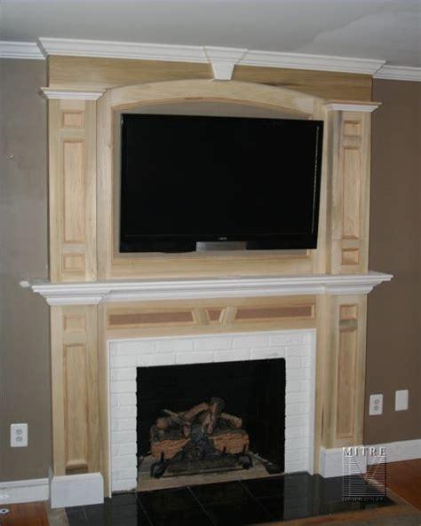 fireplace surround plans mantels surrounds mitre contracting inc