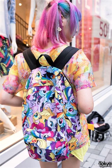 colorful harajuku decora girls  omocha party dokidoki   pony tokyo fashion