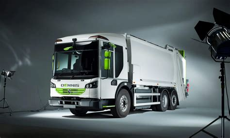 emissions  waste collection truck  dennis eagle