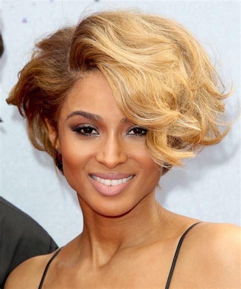 Ciara New Hairstyle by Ciara Wavy Formal Hairstyle