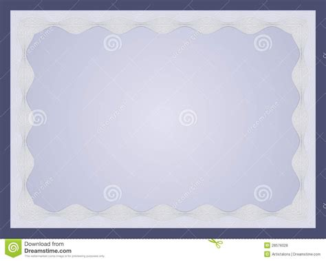 certificate template royalty  stock  image