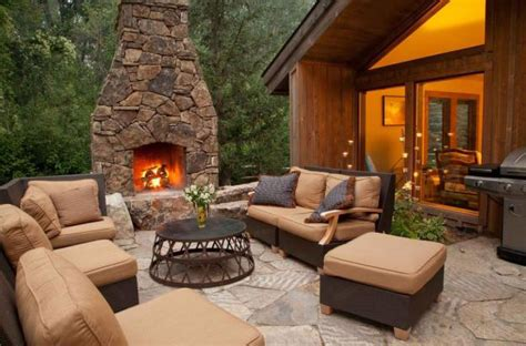 12 Outdoor Fireplace Plansadd Warmth And Ambience To