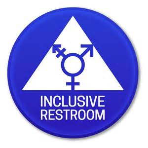 gender inclusive bathroom sign single stall bathrooms in nyc to become gender neutral